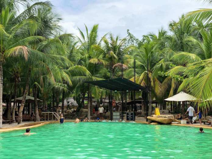 mineral pool at i-resort nha trang