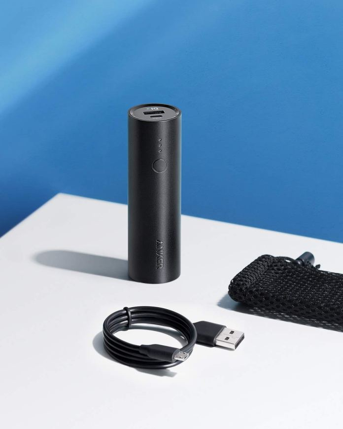Anker 5000mAh powerbank, one of the ideal iPhone accessories for travel