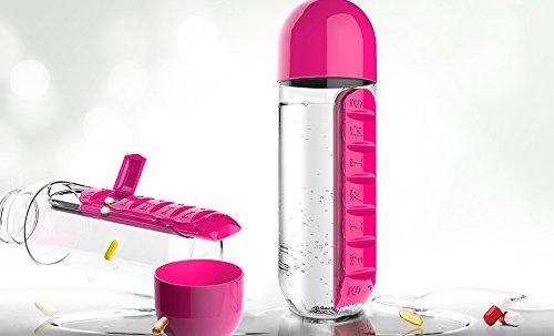 Asobu pill organizer combined water bottle