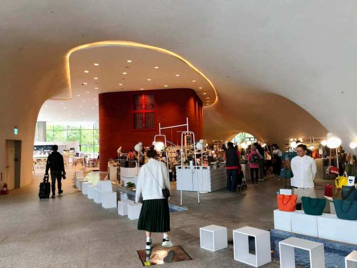 Inside National Taichung Theater