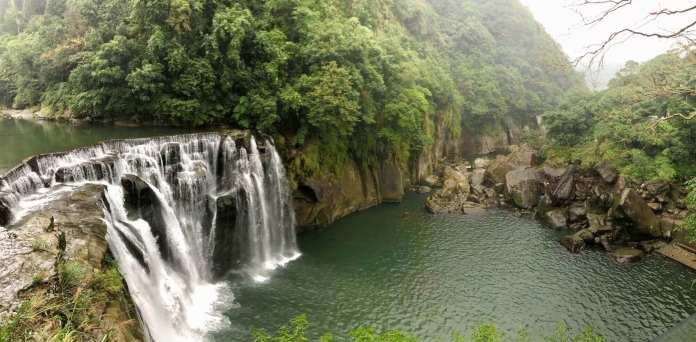 Shifen Waterfall at North Taipei, Taiwan