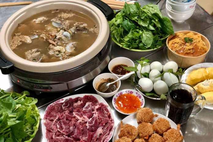 Vietnamese dinner in coronavirus time, day 66th