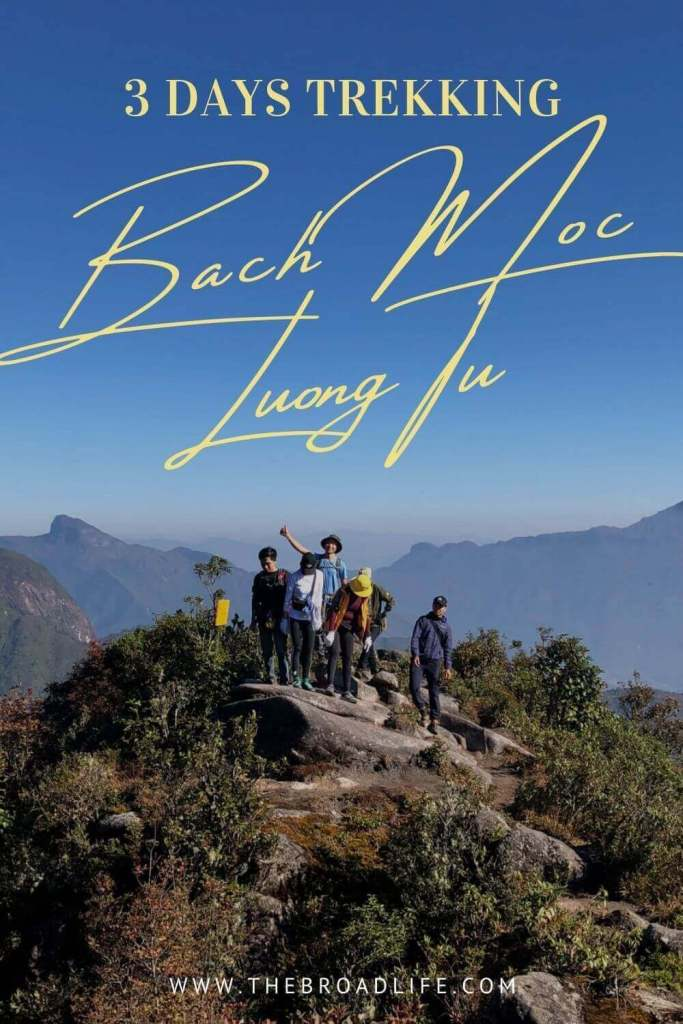3 Days Trekking Bach Moc Luong Tu - The Broad Life's Pinterest Board