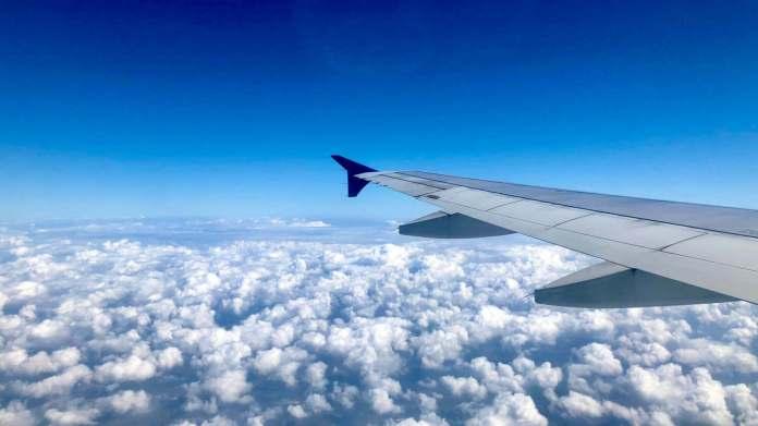 flight on Vietnam sky