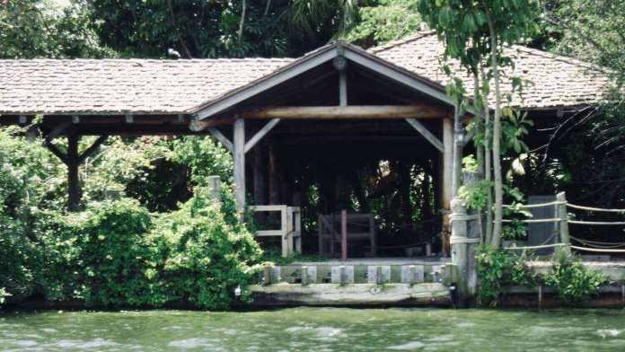 abandoned disney discovery island in bay lake, florida