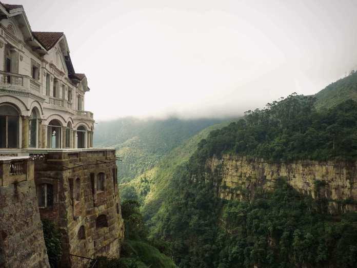 El Hotel del Salto, an abandoned hotel in colombia