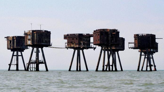 Red Sands Fort of Maunsell Sea Forts