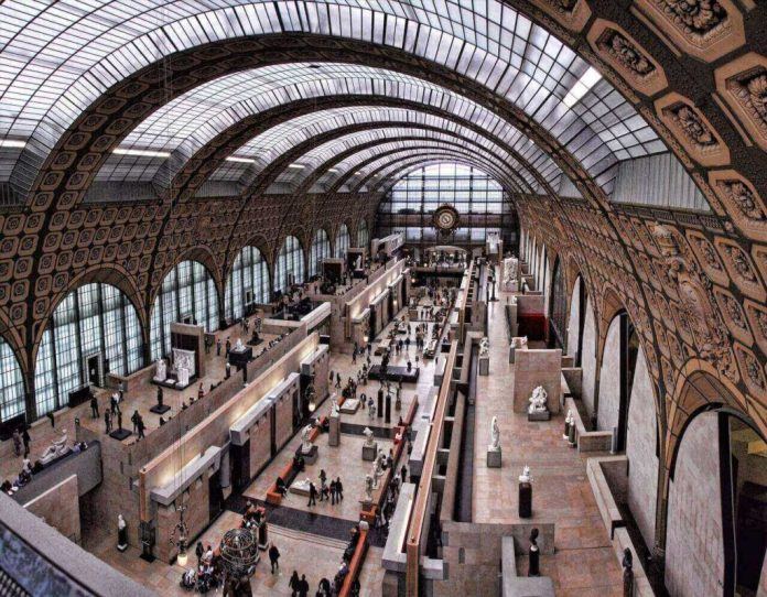 inside Musée d'Orsay in Paris