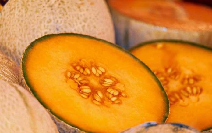 orange melon fruit, or honeydew