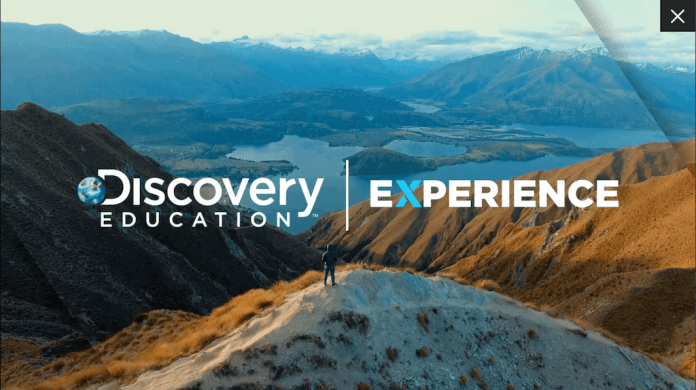 The Experience section of Discovery Education