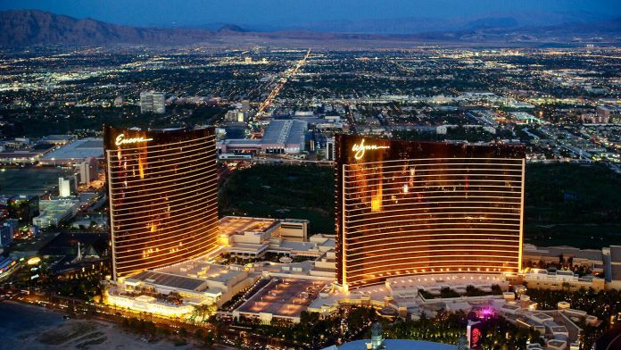 Wynn & Encore is one of the biggest hotels in the world