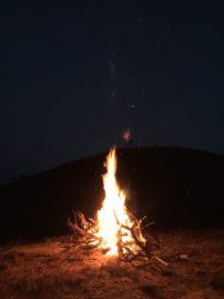 Fire-camp.