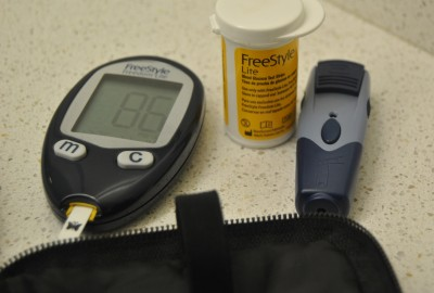 Many people with diabetes must use these tools to check their blood glucose levels several times a day to avoid dangerous side-effects of blood sugar imbalances.  Photos by Perla Jaimes | The Broadside.
