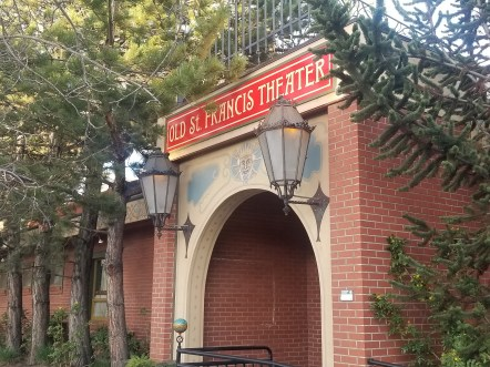 Old St. Francis Theater marquee entrance at McMenamins in Downtown Bend. April 30. Photo by Kayla Scott.