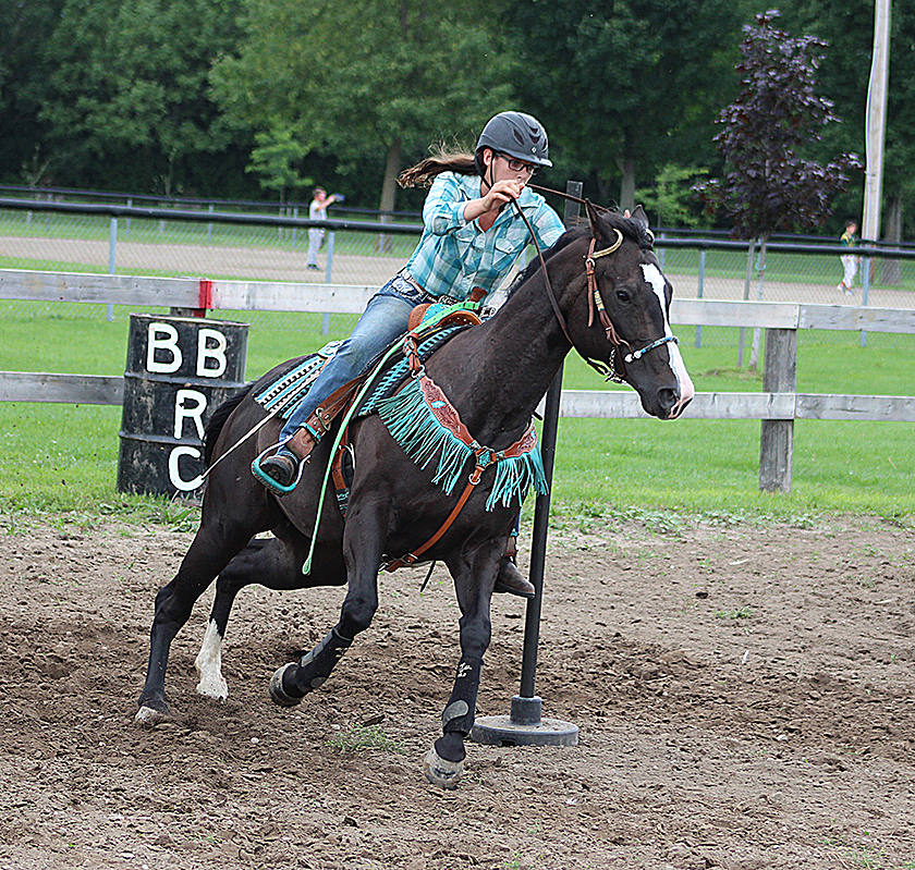 Barrel racers compete at Beaverton fairgrounds