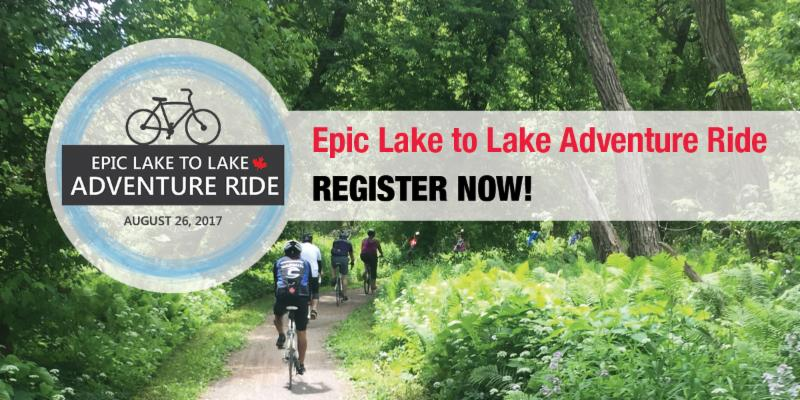 Registrations rolling in for Epic Lake to Lake Adventure Ride