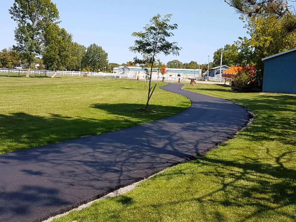 Beaverton Lions, Township celebrate the completion of walking track at fairgrounds