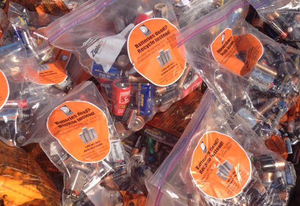 Curbside battery collection next week in Durham Region