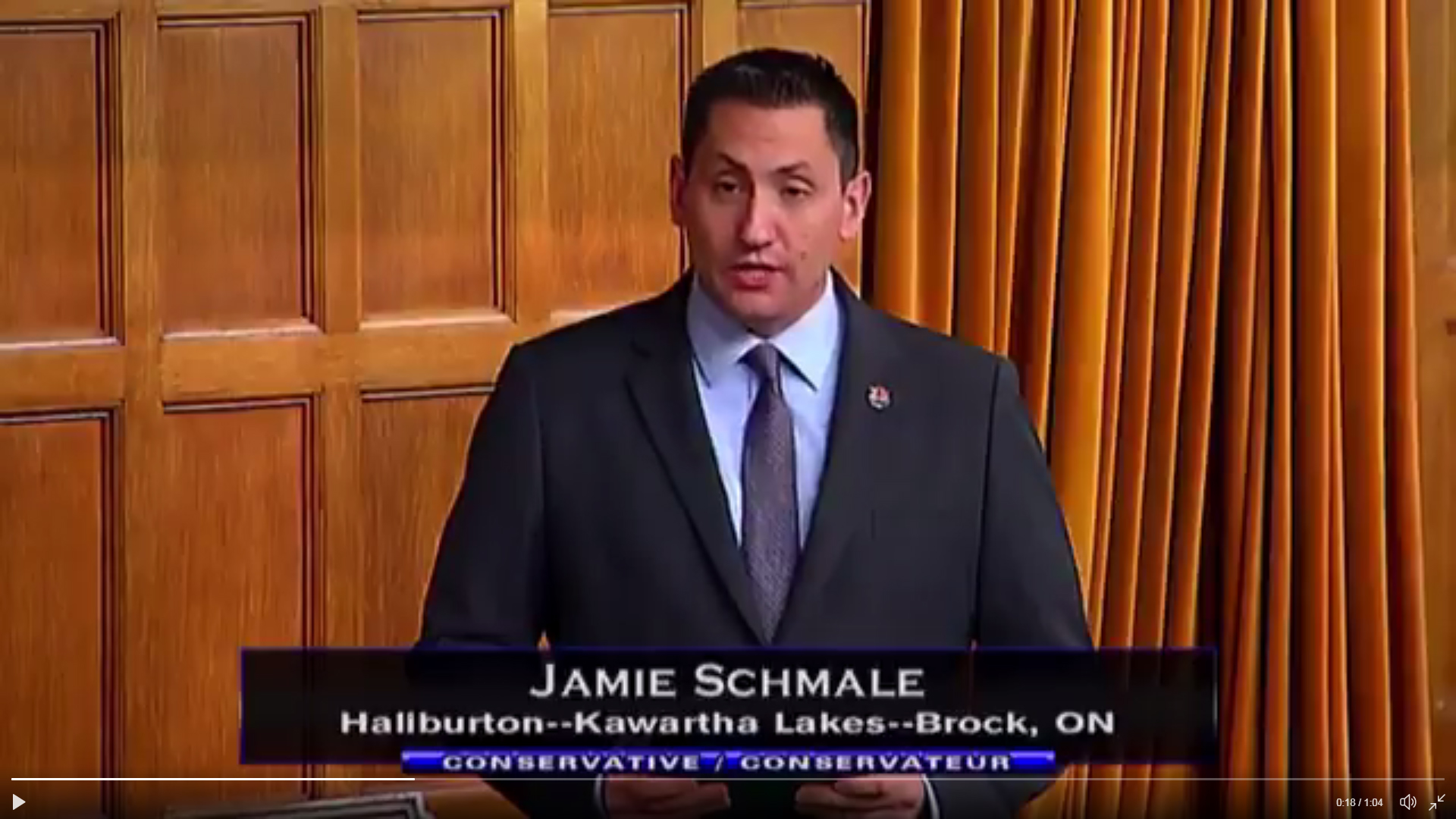 Haliburton-Kawartha Lakes-Brock Member of Parliament confirms 2019 candidacy