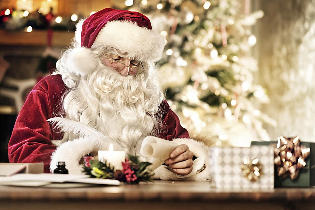 Santa stopping in Sunderland on Saturday night