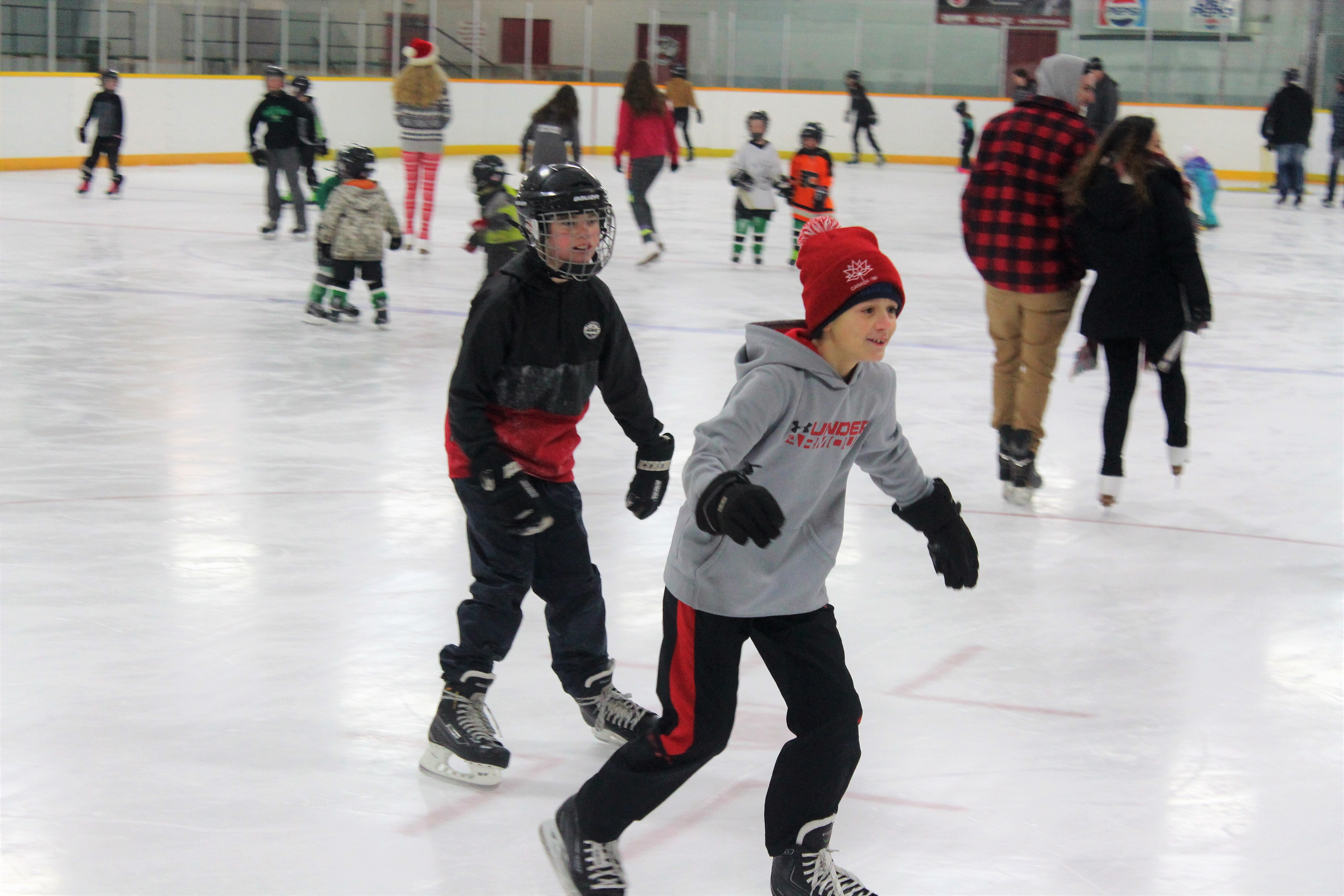 Free public skating returns to Brock over the holidays