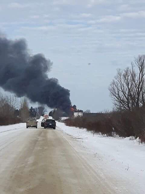 Prospect Road fire