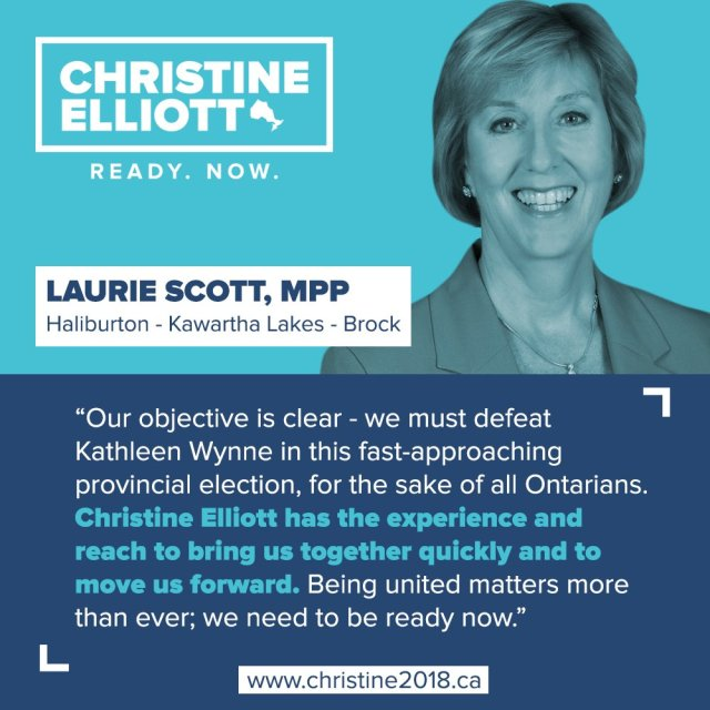 Laurie Scott endorsement