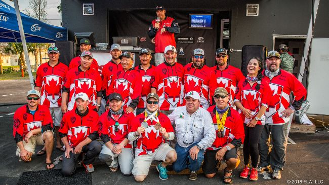 Cannington duo finish fifth in international bass fishing competition