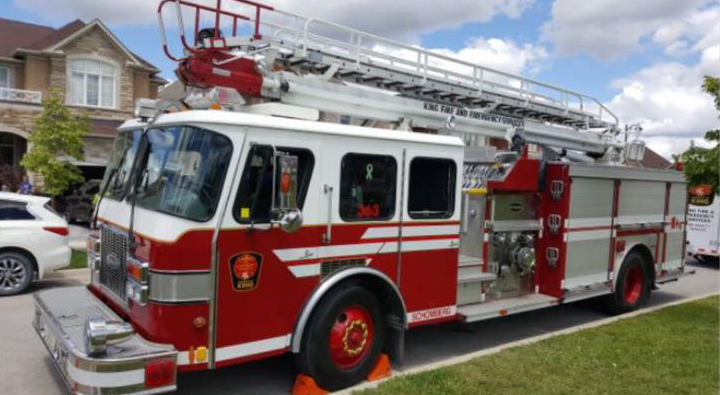Deputation on donation of aerial unit by Beaverton firefighters delayed