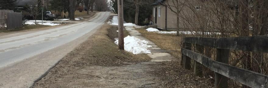 St. John Street sidewalk