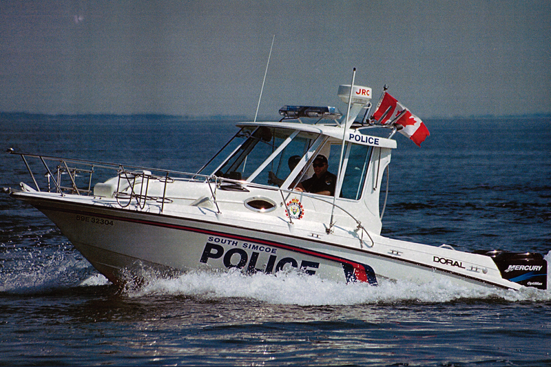 Ten-year-old caught operating boat by himself on Lake Simcoe