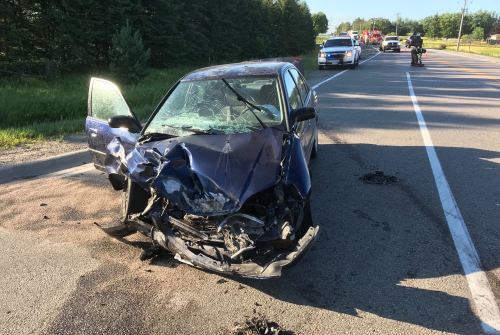 One person taken to hospital after early morning accident south of Sunderland