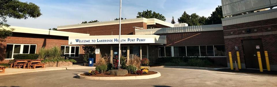 Port Perry hospital re-opened this morning
