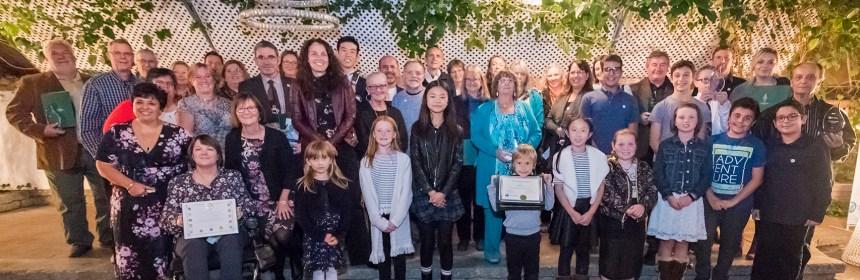 Group photo of LSRCA award winners