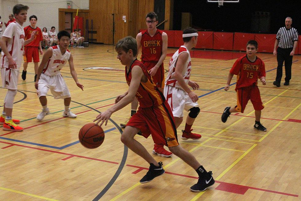Brock High's boys basketball teams open season with wins