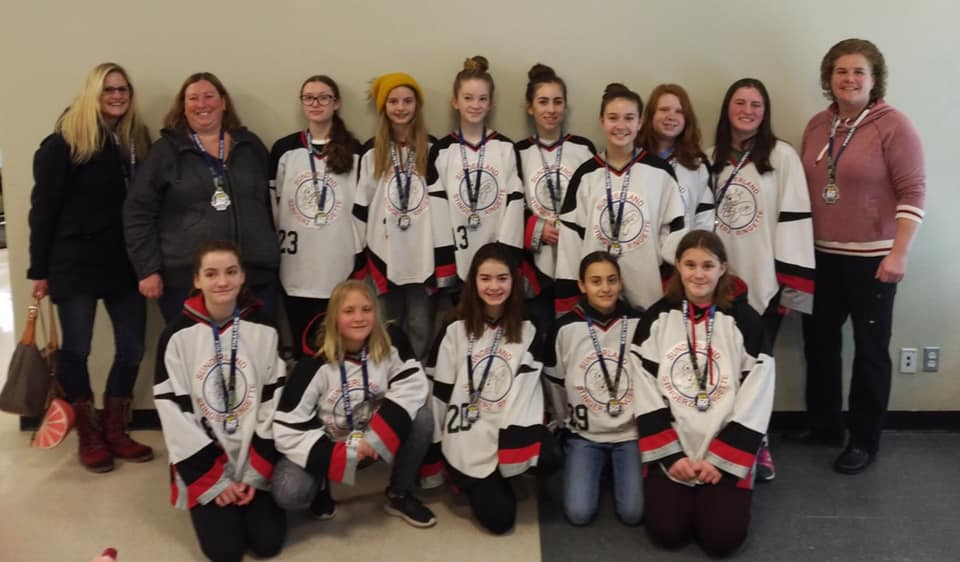 Three Sunderland ringette teams earn silver medals at Whitby tournament