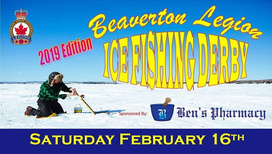 Contest – Win a pair of tickets to the Beaverton Legion's ice fishing derby