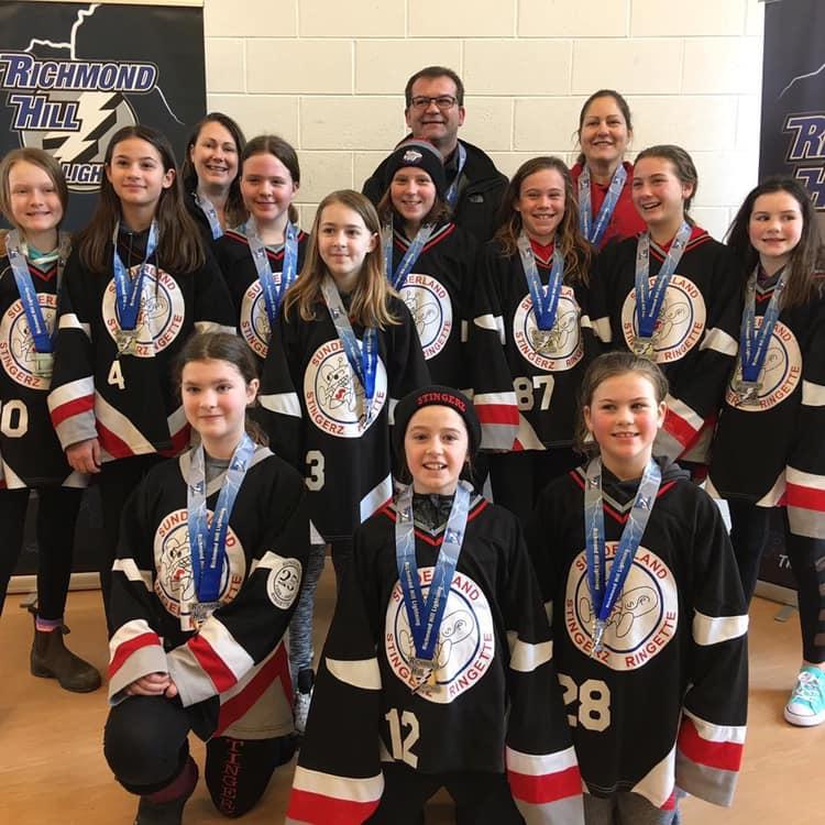 U12 Stingerz win championship at Niagara Falls tournament