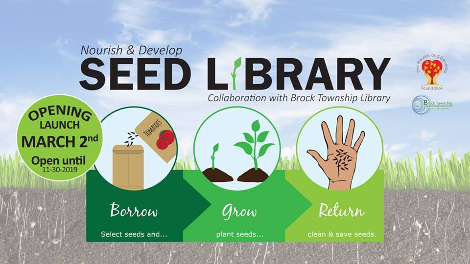 Seed library sprouts up across Brock Township