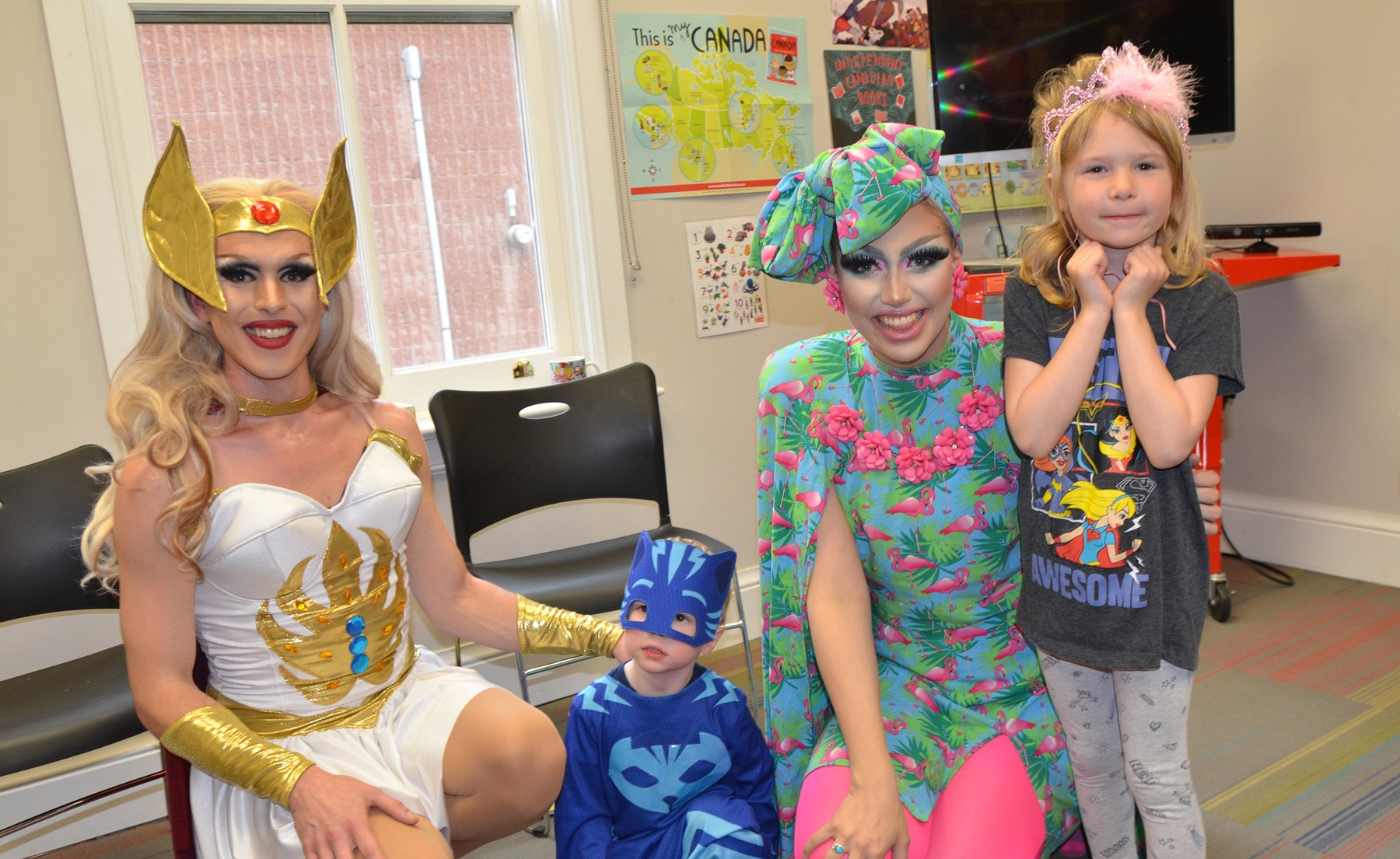 Drag Queen Storytime draws a crowd in Cannington