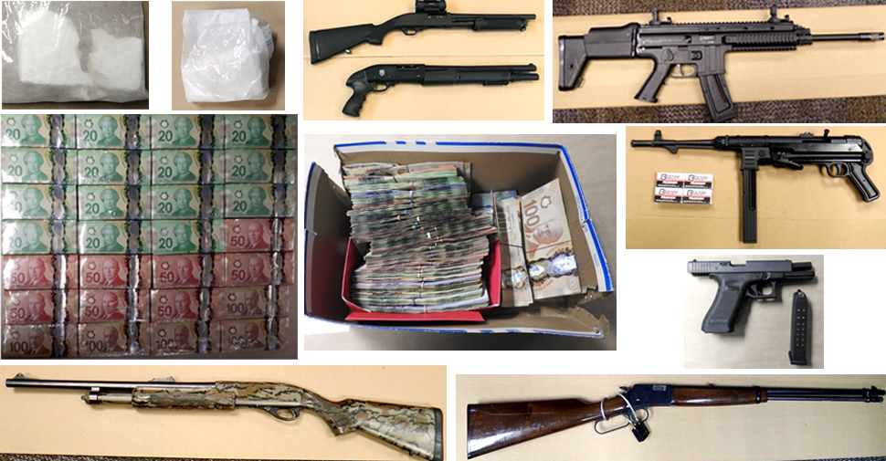 Twenty people charged following investigation into drug, weapons trafficking