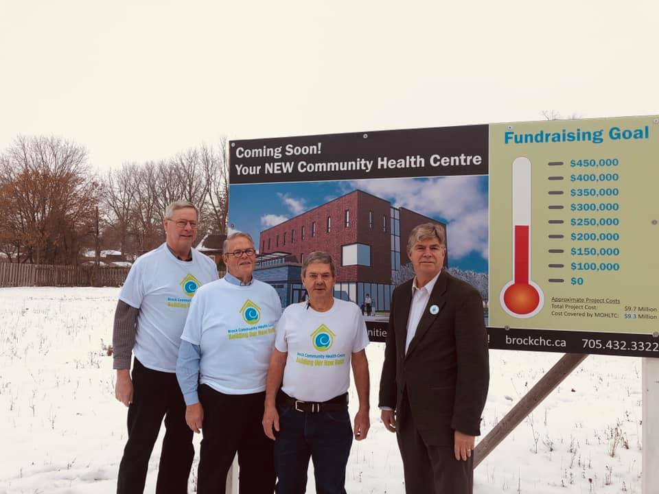 Brock CHC more than halfway towards its fundraising goal