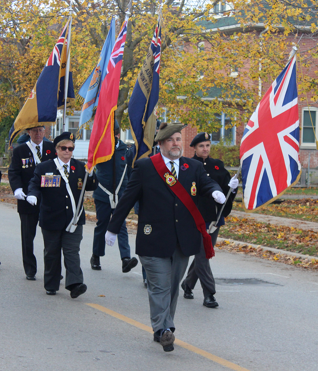 Public Remembrance Day ceremonies cancelled in Brock