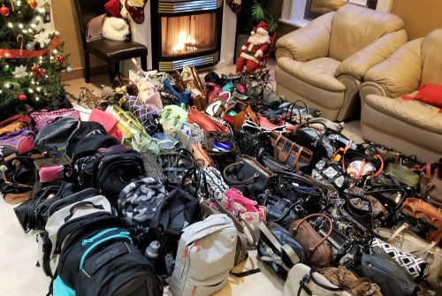 Fill a Purse for a Sister campaign draws more than 150 donations in Brock