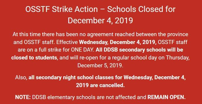 Public high schools in Durham to close for one-day strike