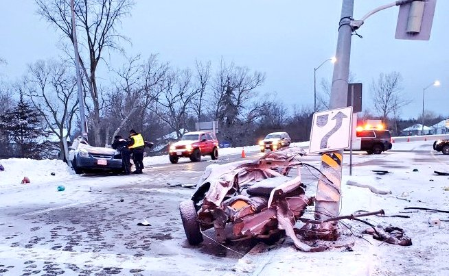 One person suffers life-altering injuries following collision in Georgina