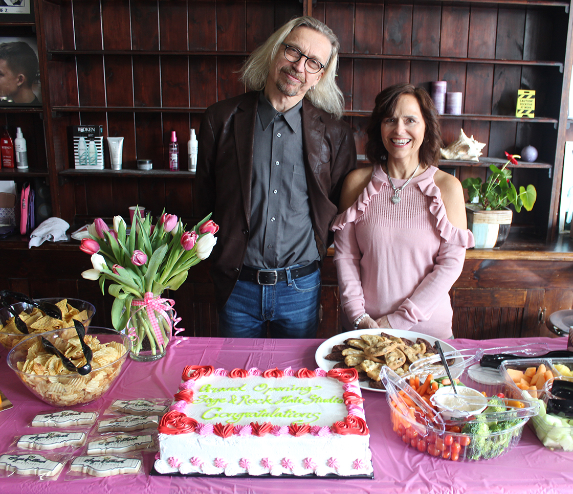 Sage and Rock Hair Studio celebrates its grand opening in Cannington