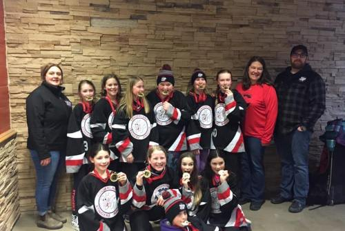 U12 Stingerz crowned champions at Newmarket tournament
