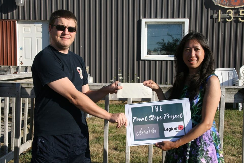 Photographer raises $2,800 in support of Beaverton Legion