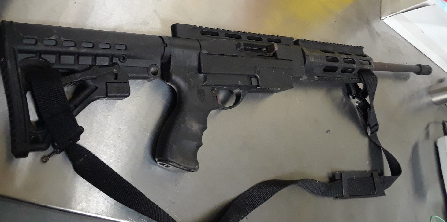 Scarborough man charged after police seize rifle in Orillia